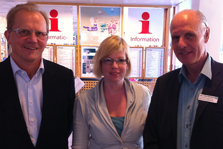 Stefan Jacobsson, Anna Starbrink, Carl-Göran Ericsson