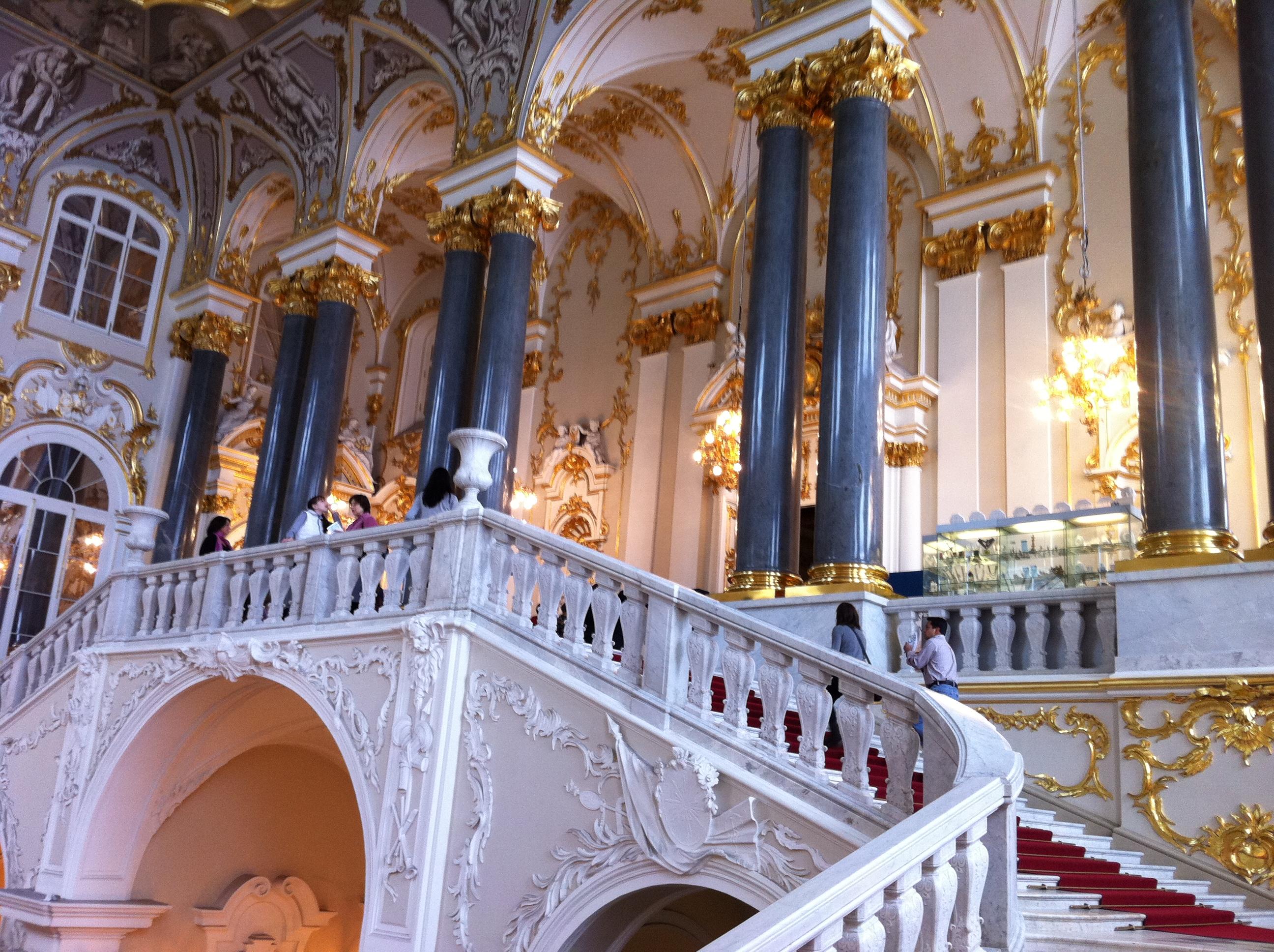 Eremitagets vackra trappa