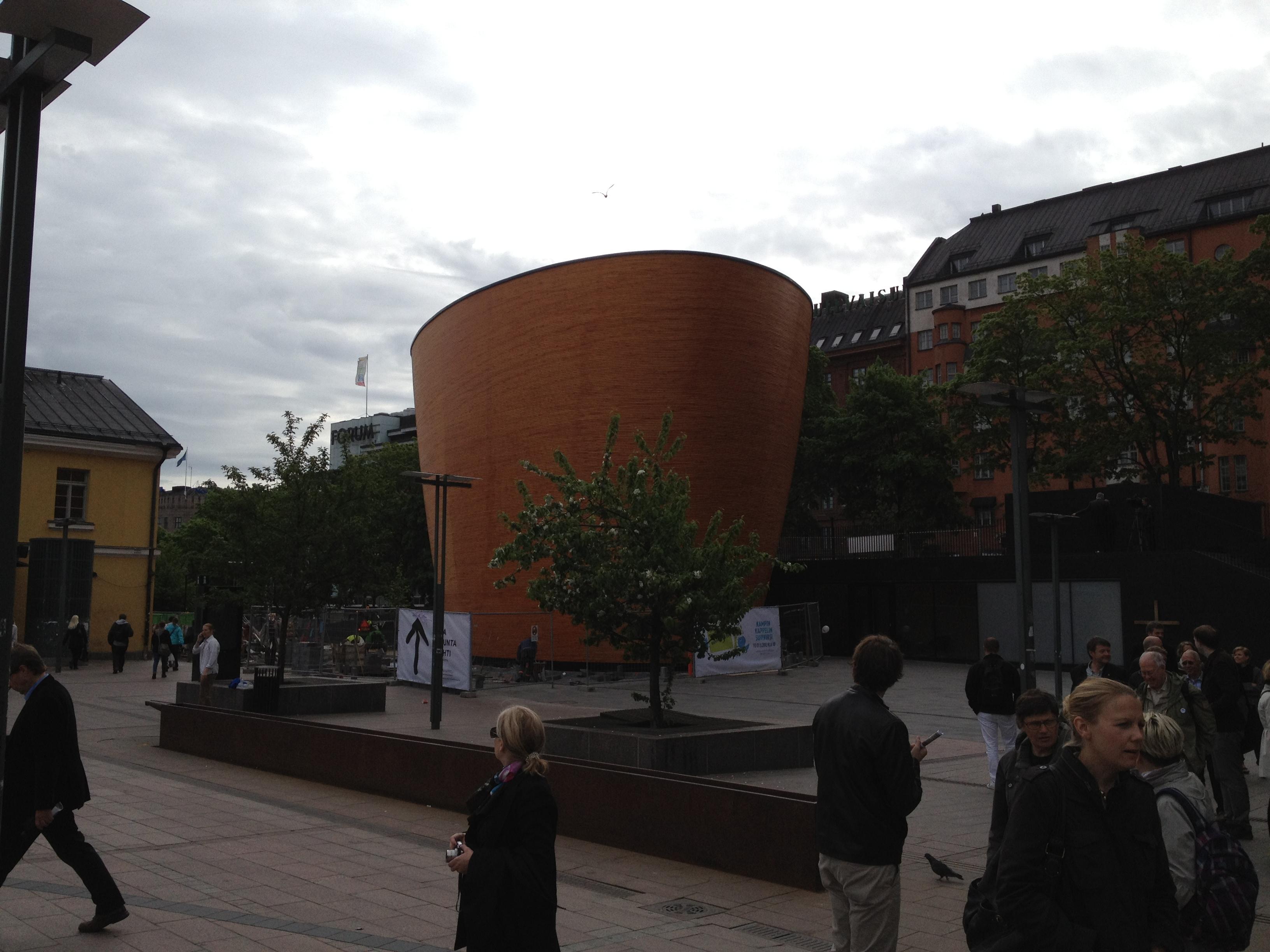 Helsingfors nya kapell.