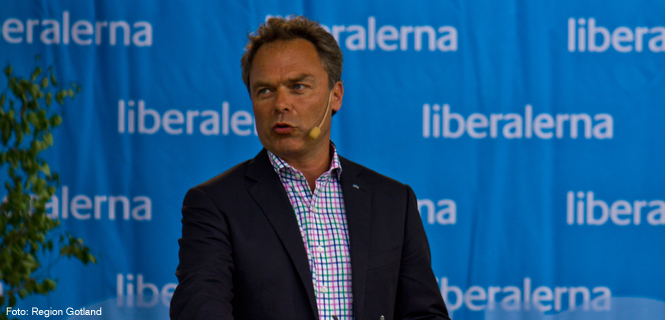 Jan Björklund talar i Almedalen 2012