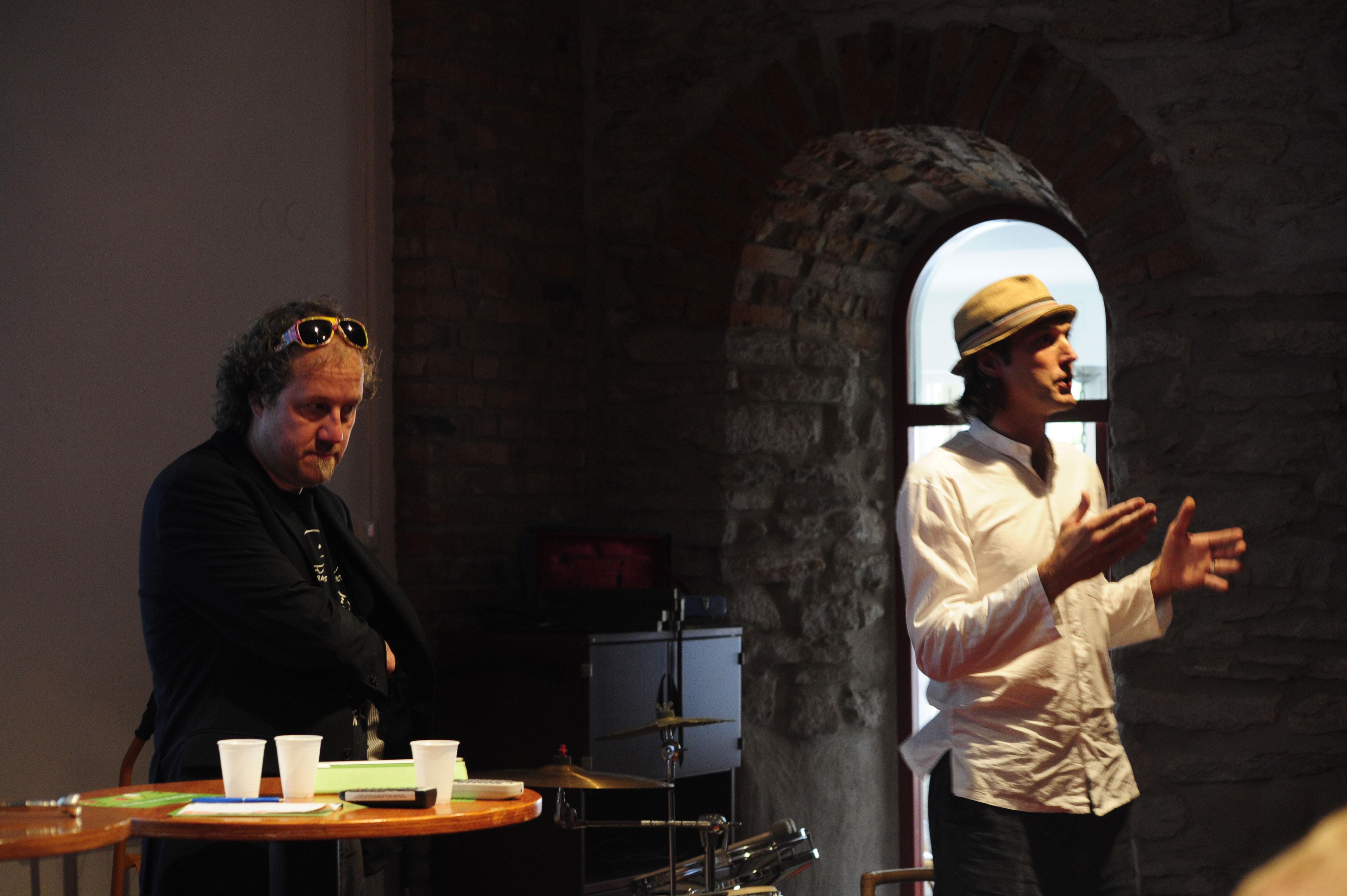 Johans E Andersson leder musikworkshop