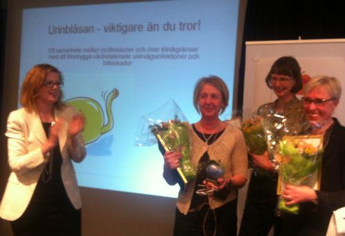 Anna Starbrink, Karina Walther, Eva Joelsson-Alm och Åsa Bäärnhielm