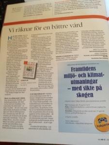I senaste Nu skriver Birgitta Rydberg och jag om ersättningsmodeller i vården