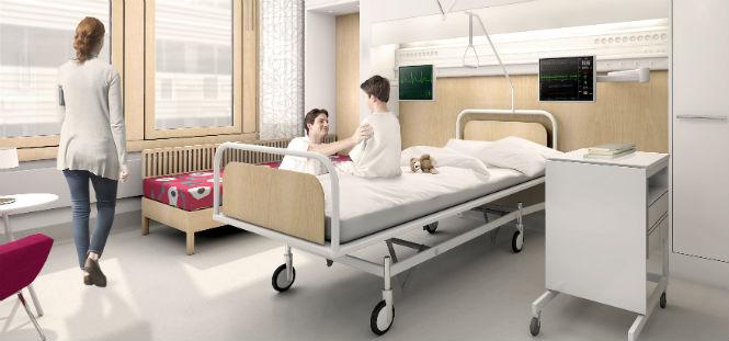 Enkelrum i framtidens sjukvård
