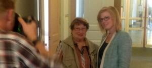 Jag tärffade Gärd Johsannson som berättade i DN om dåligt bemötande i vården. Hon inspirerade till nya tag i arbetet för att utveckla vården och  hur vi som patienter ska få en bra upplevelse av vården, även när vi är svårt sjuka.
