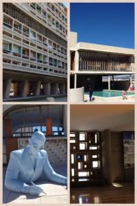 Le Corbusiers stora projekt från 40-50-talets Marseille skapade på sätt och vis en hel by i ett enda hus.