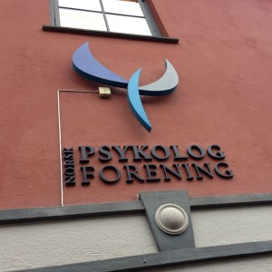 Norsk psykologforening var våra värdar under studieresan.