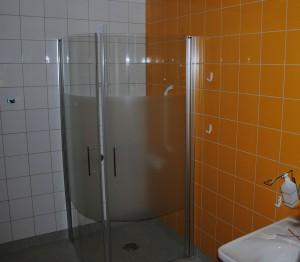 Badrum på NKS förlossningsavdelning.