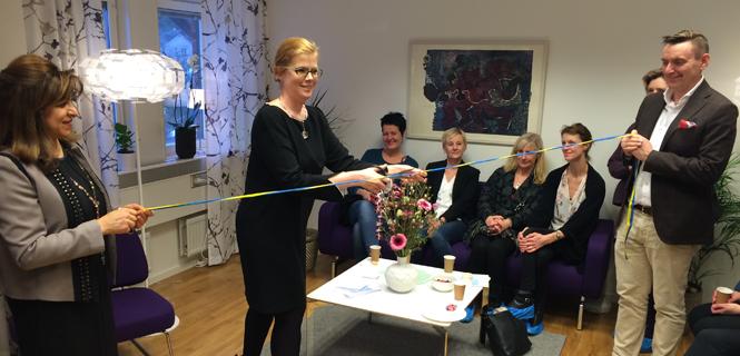 Invigning av alkoholmottagning i Mörby