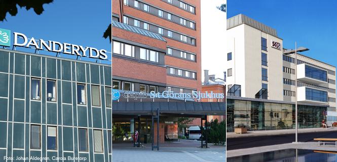 Nästan 9 av 10 stockholmare är nöjda med sjukhusen