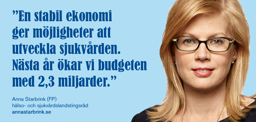 Stockholm stärker sjukvården – 2,3 miljarder mer 2016