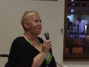 Lise Lidbäck talar om Vintersols stora betydelse för många patienter - små och stora mirakel händer här