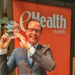Europeiskt eHälso-pris till Daniel Forslund