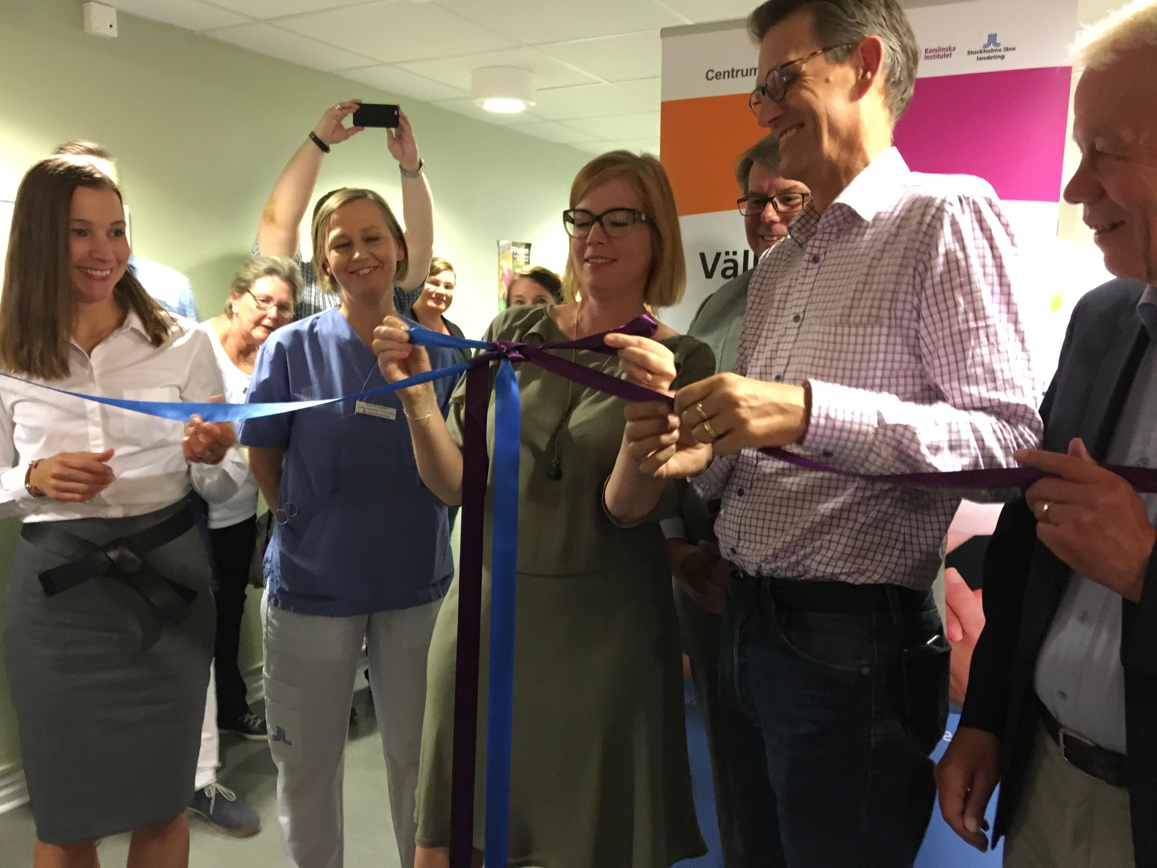 Nytt centrum för reumatologi invigt