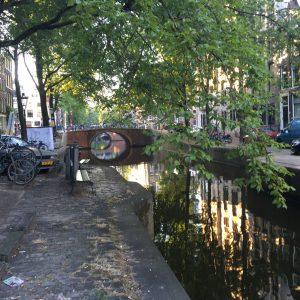 Det är vackert i Amsterdam. mesta tiden tillbringade vi dock i trista konferensrum.