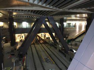 Ny tunnelbana byggs i Amsterdam.