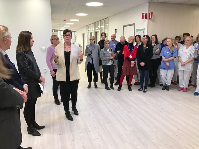 Akademiskt specialistcentrum invigt