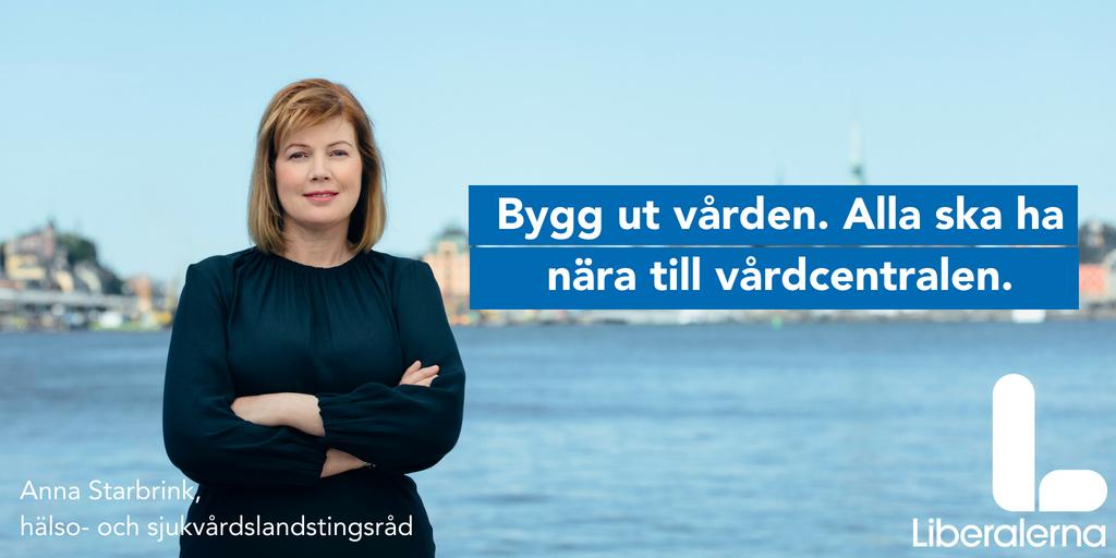 Liberalt vårdmanifest för Stockholms län