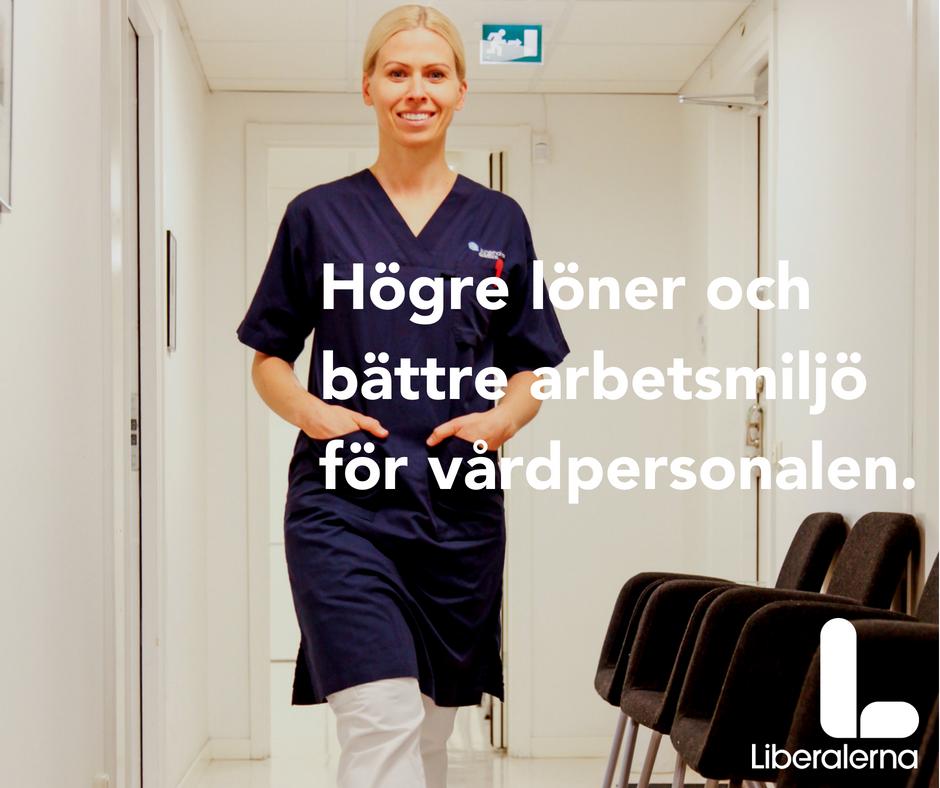 Bättre villkor för sjuksköterskor