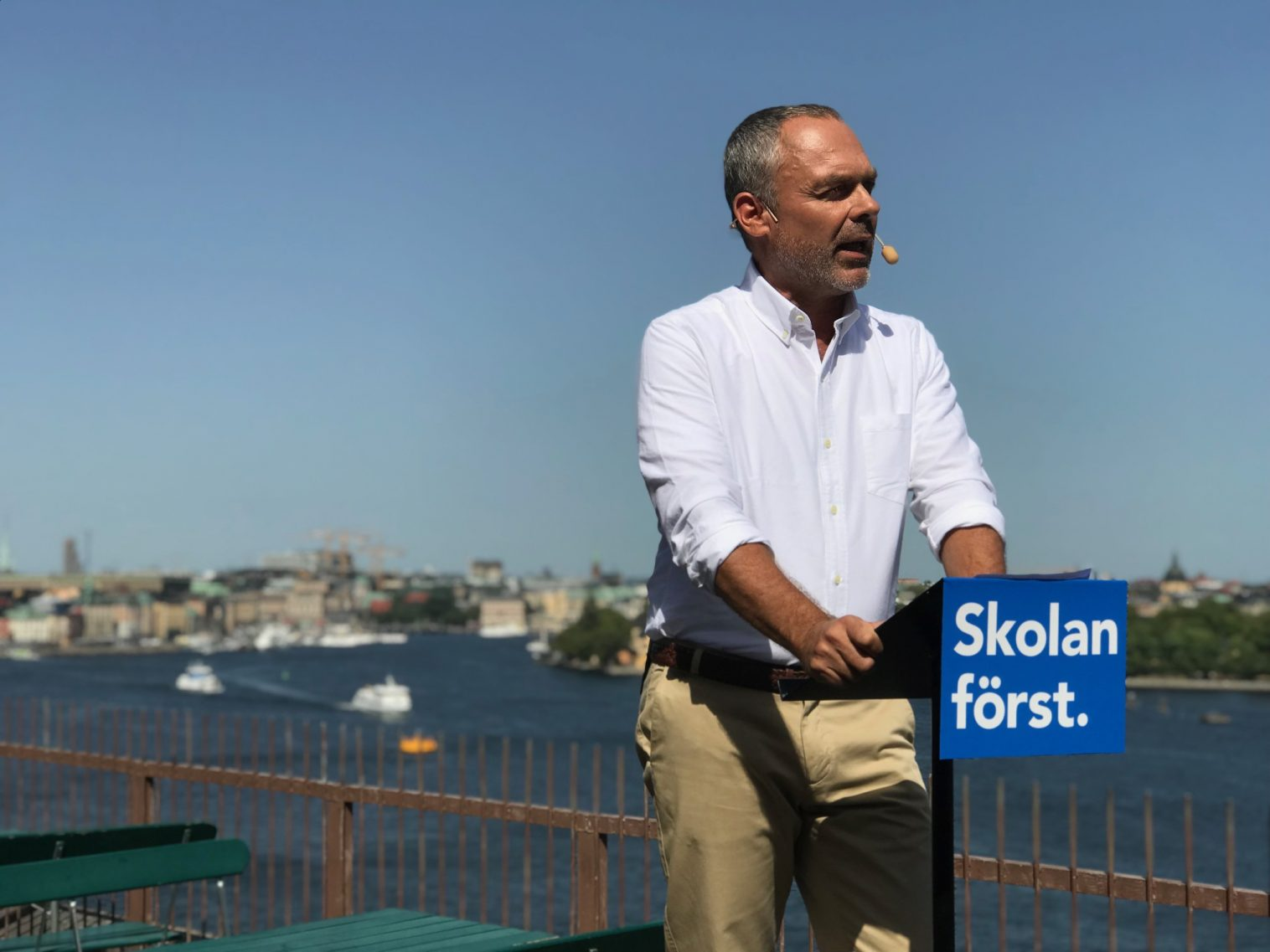 Jan Björklunds sommartal