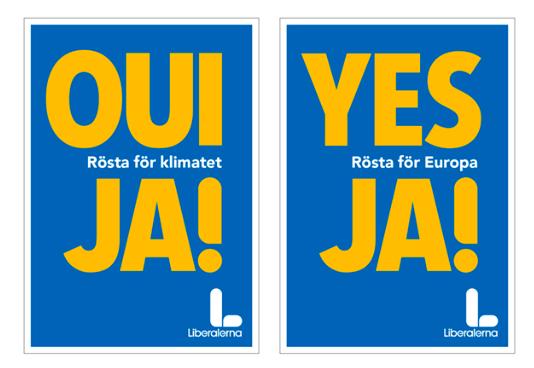 Ja! Yes! Oui! – val till Europaparlamentet