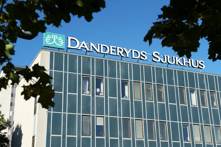 Danderyds sjukhus utvecklas