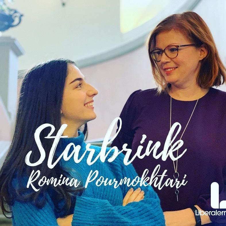 Veckans podd: Romina Pourmokhtari