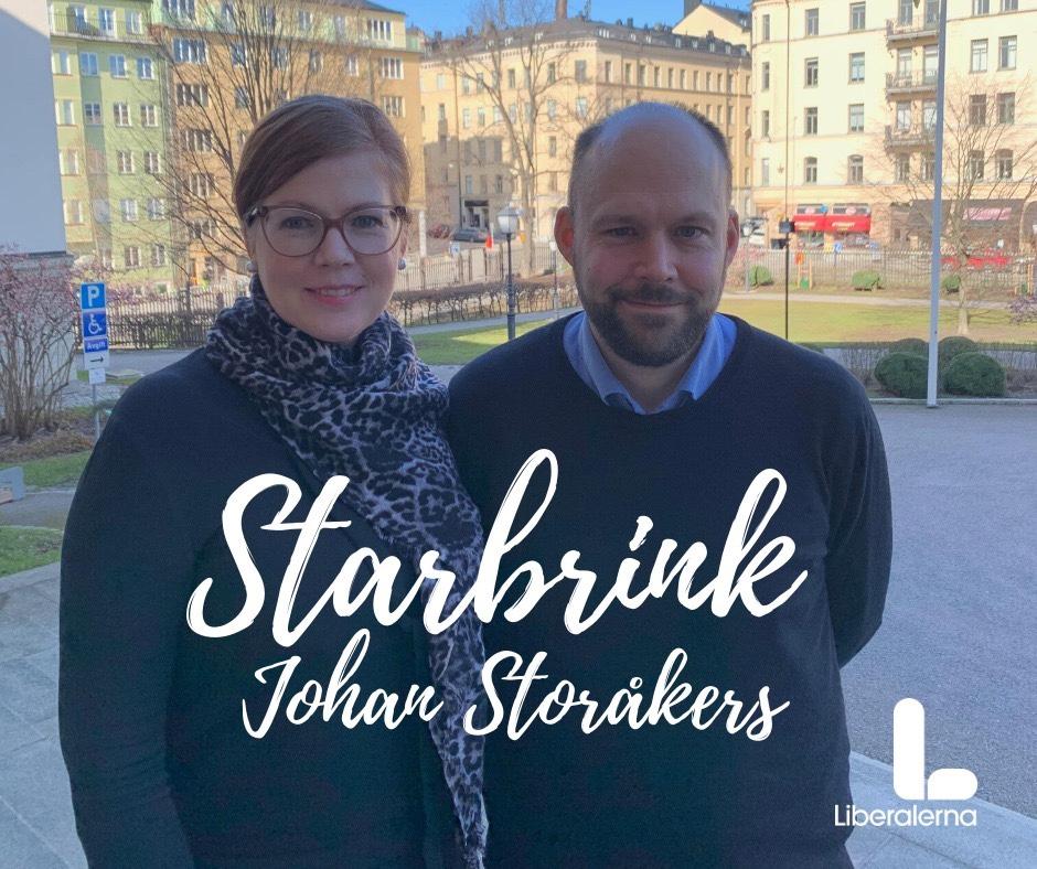 Podd med Friidrottsförbundets Johan Storåkers