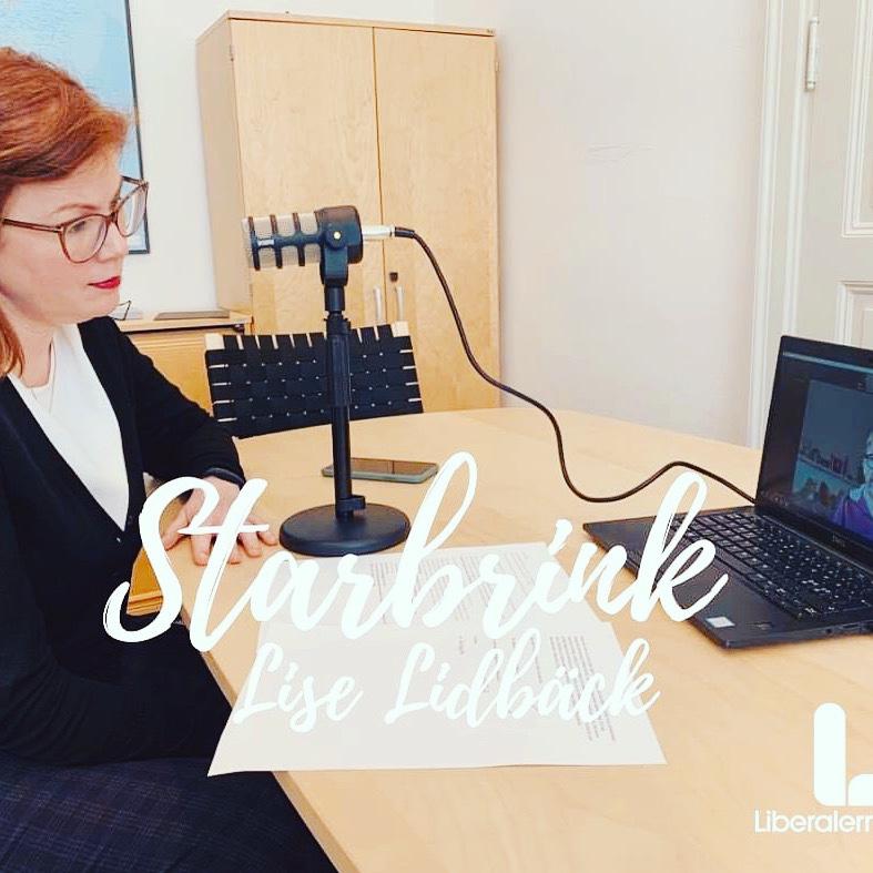 Ny podd: Lise Lidbäck om ledarskap och engagemanget i Neuroförbundet