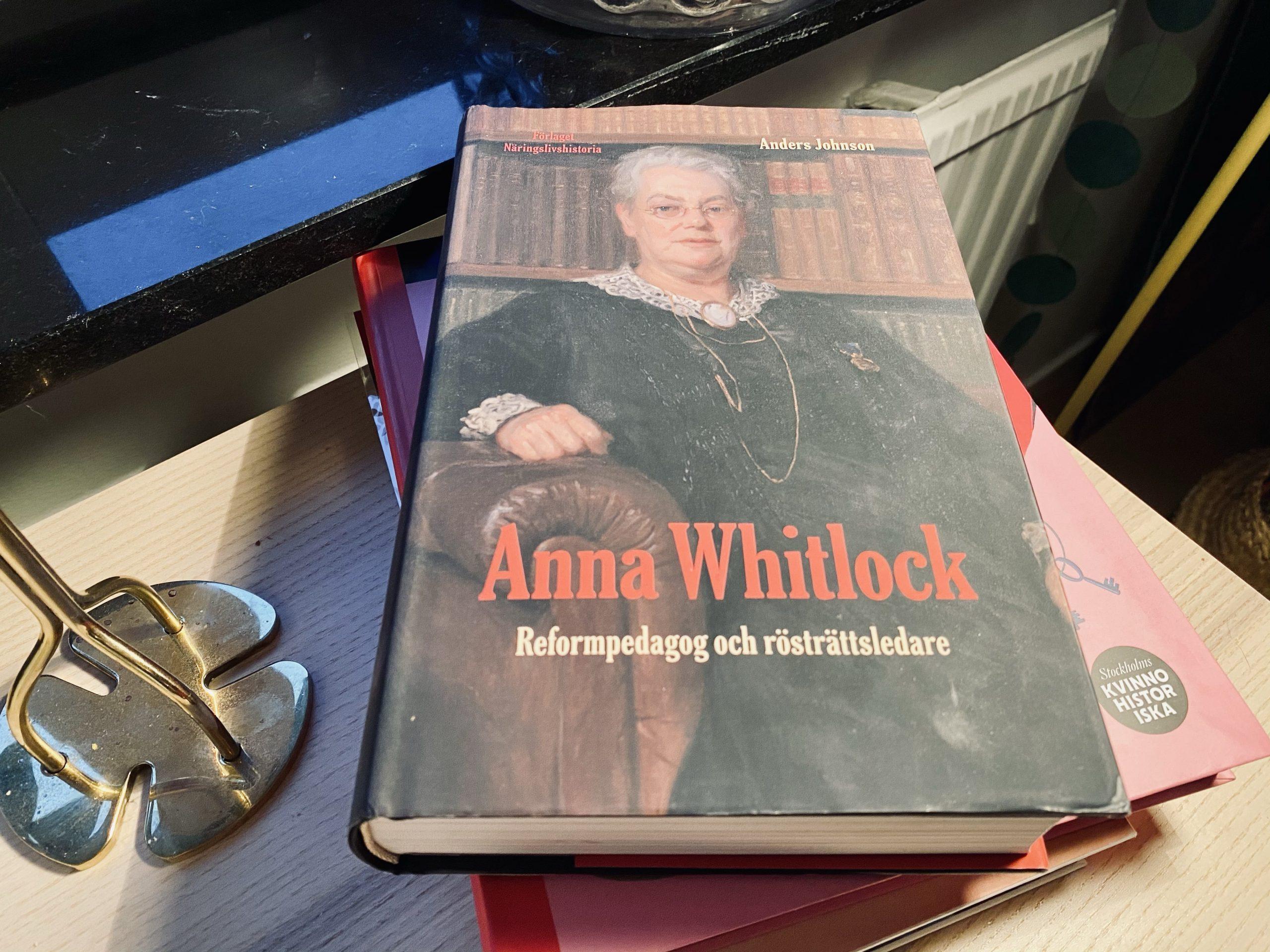 Anna Withlock – reformpedagog och rösträttsledare