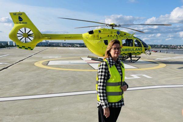 Beslut idag om två helikoptrar året runt