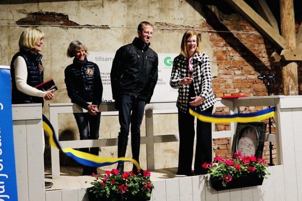 Stall Kungsgården invigd!